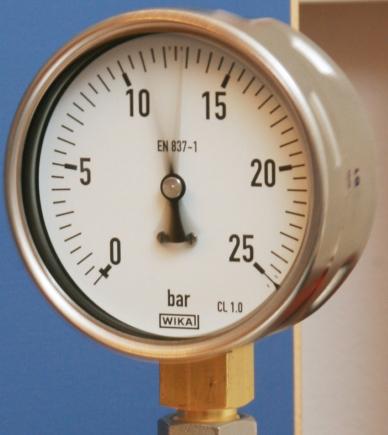 Manometro senza fluido di riempimento - Modello 213.53