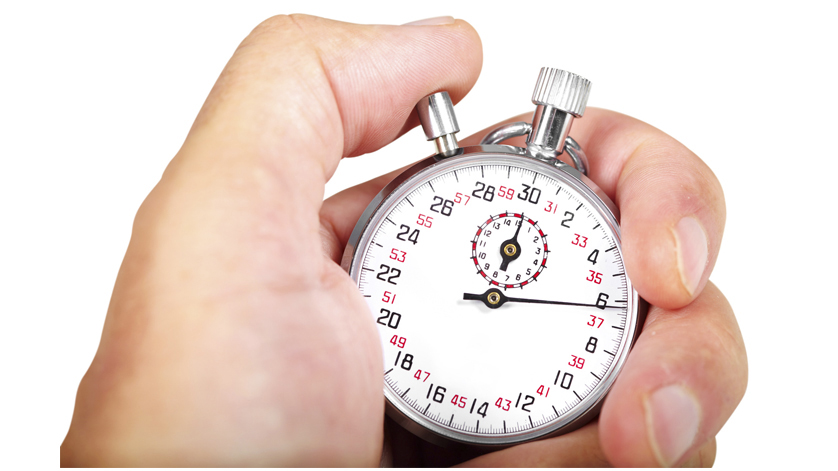 mechanical thermometers response time