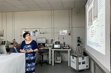 Nuovo Laboratorio di Metrologia CIRA