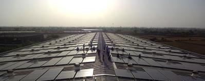 Pannelli solari alla Micro Precision