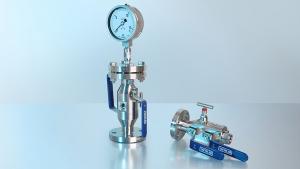 Soluzione di hook-up: combinazione di uno strumento di misura della pressione con accessori