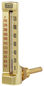 Termometro a vetro modello 32