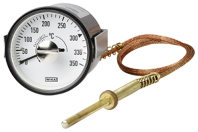 Expansion thermometer with switch contact SB15